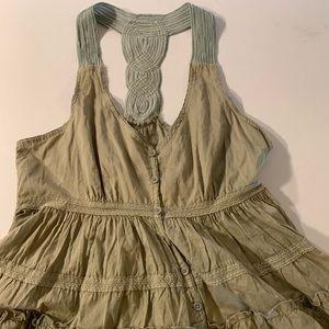 Edme Esylte Anthropology Sleevless Dress Size 10
